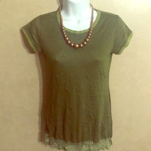 Agaci Too Green T-shirt - Size XS